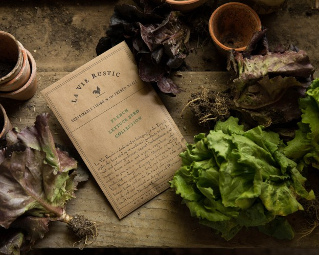 LA VIE RUSTIC FRENCH LETTUCE SEED COLLECTION