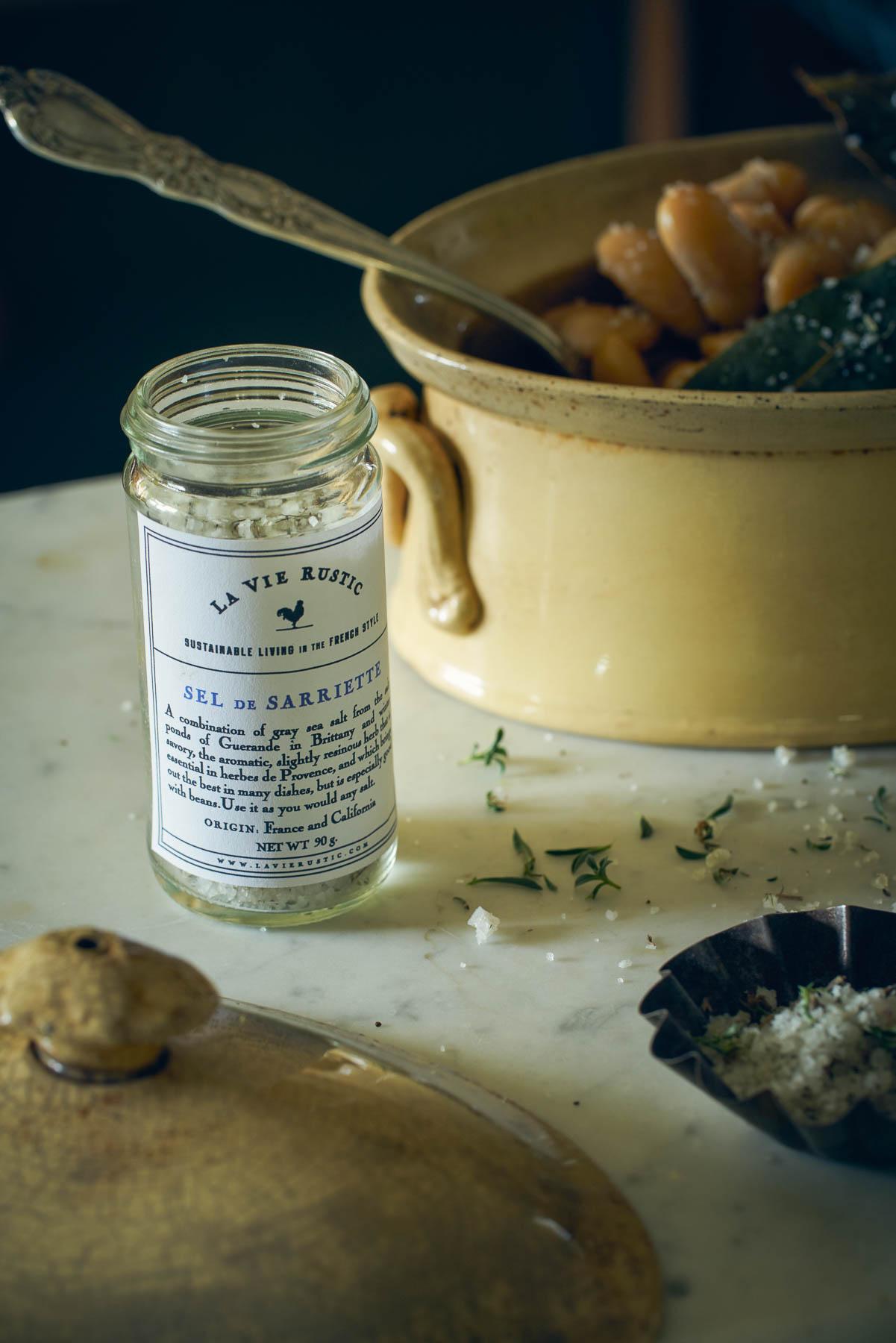 La Vie Rustic White Bean and Winter Savory Soup Set